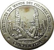 1000 Francs  (Chichen Itza) – reverse