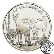 1000 Francs  (Okapia Johnstoni) – reverse
