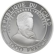 1000 Francs (Galileo) – obverse