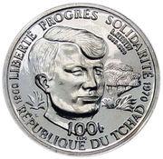 100 Francs (Robert Francis Kennedy) – obverse
