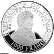 1000 Francs  (Forgotten Cultures - JERICHO) – obverse