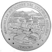 1000 Francs  (Forgotten Cultures - JERICHO) – reverse