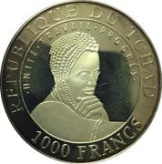 1000 Francs  (Persepolis) – obverse
