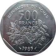 500 Francs (Essai) – obverse