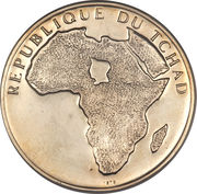 300 Francs (Independence) – obverse