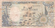 1000 Francs Type 1985 – obverse