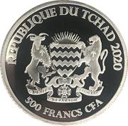 500 Francs CFA (Ox) – obverse