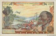 5 000 Francs – reverse