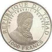 1000 Francs  (Stonehenge) – obverse