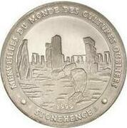 1000 Francs  (Stonehenge) – reverse
