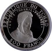 500 Francs (Millennium) – obverse