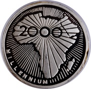500 Francs (Millennium) – reverse