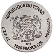 1000 Francs (Horus) – obverse