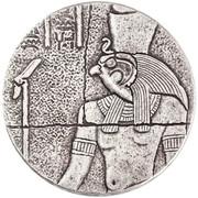 1000 Francs (Horus) – reverse