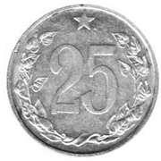 25 Haléřů -  reverse