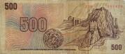 500 Korun -  reverse