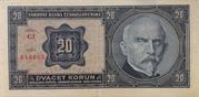 20 Korun -  reverse
