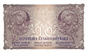 10 Korun 1919 – reverse