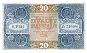 20 Korun 1919 – obverse