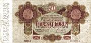 50 Korun 1919 – obverse