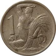 1 Koruna -  reverse