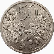 50 Haléřů – reverse