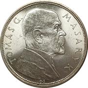10 Korun (Tomáš Masaryk) – reverse