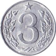 3 Haléře -  reverse