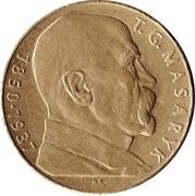 10 Korun (T. G. Masaryk) -  reverse