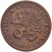 1 Koruna (Trial Strike) -  obverse