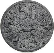 50 Haléřů (Trial Strike) – reverse