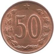 50 Haléřů -  reverse
