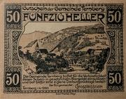 50 Heller (Ternberg) – obverse