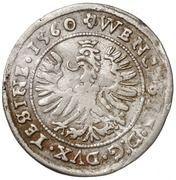 Groshen - Wenzel III (Teschen) – obverse