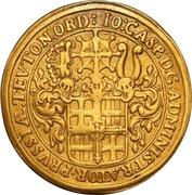 10 Ducat - Johann Caspar II. – obverse