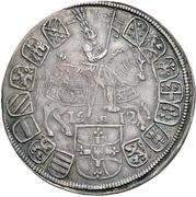 ½ Thaler - Maximilian III – reverse