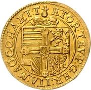 1 Ducat - Maximilian I. – reverse