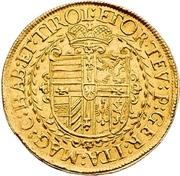 2 Ducat - Maximilian I. – reverse