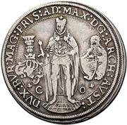 ½ Thaler - Maximilian III – obverse