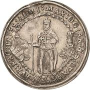 ½ Thaler - Maximilian I. – obverse