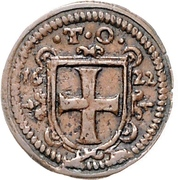 3 Pfennig - Karl I. (Kipper) – obverse