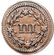 3 Pfennig - Karl I. (Kipper) – reverse