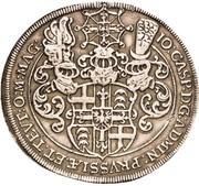 1 Thaler - Johann Caspar von Stadion (Death) – obverse