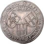 4 Kreuzer - Johann Casper von Ampringen – obverse