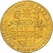 2 Ducat - Johann Caspar II. von Ampringen – obverse