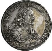 1 Thaler - Johann Caspar von Ampringen – obverse