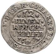 1/12 Thaler - Ludwig Anton von Pfalz Neuburg – reverse