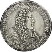 1 Thaler - Ludwig Anton von Pfalz-Neuburg – obverse