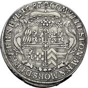 1 Thaler - Ludwig Anton von Pfalz-Neuburg – reverse