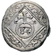 3 Pfennig - Ludwig Anton von Pfalz-Neuburg – reverse